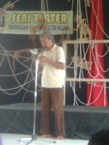 Teater Magnit Ngawi - Silahturahmi Seniman Sastra (4)