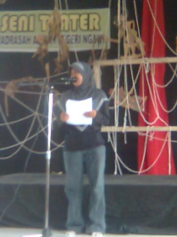 Teater Magnit Ngawi - Silahturahmi Seniman Sastra (7)
