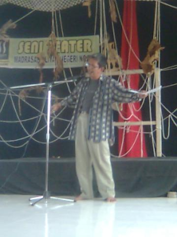 Teater Magnit Ngawi - Silahturahmi Seniman Sastra (9)