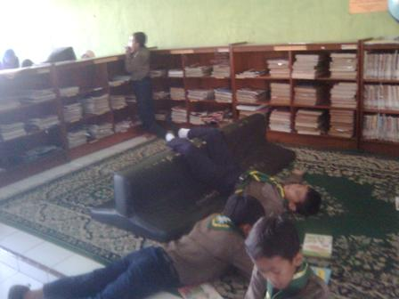 Ruangan Baca Anak Perpusda Magetan
